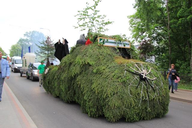 Invazinius medžius ir krūmus teks iškirsti